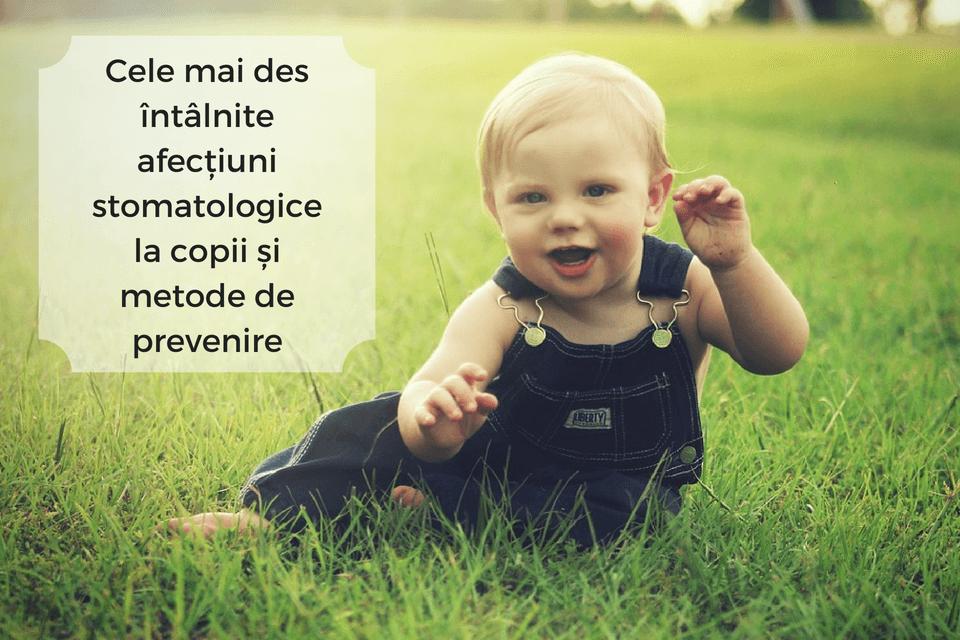 copil zambind - metode de prevenire ale afectiunilor stomatologice